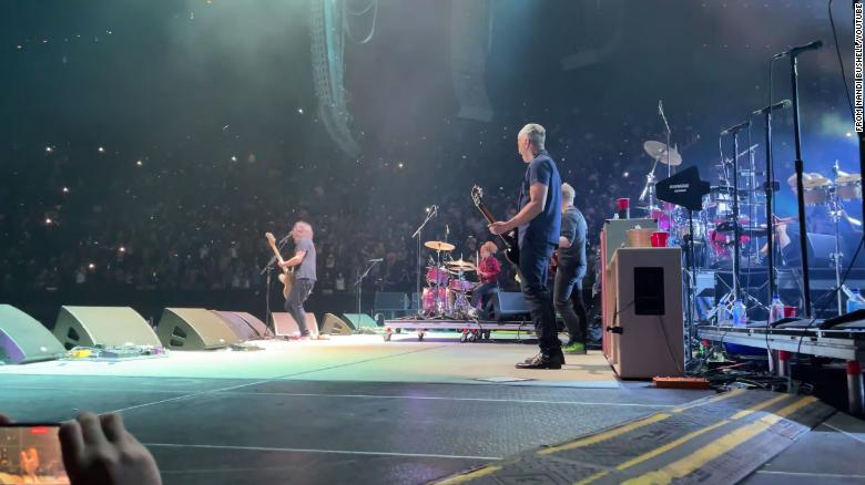 Nandi Bushell, 11-year-old drummer, finally joins Foo Fighters on stage