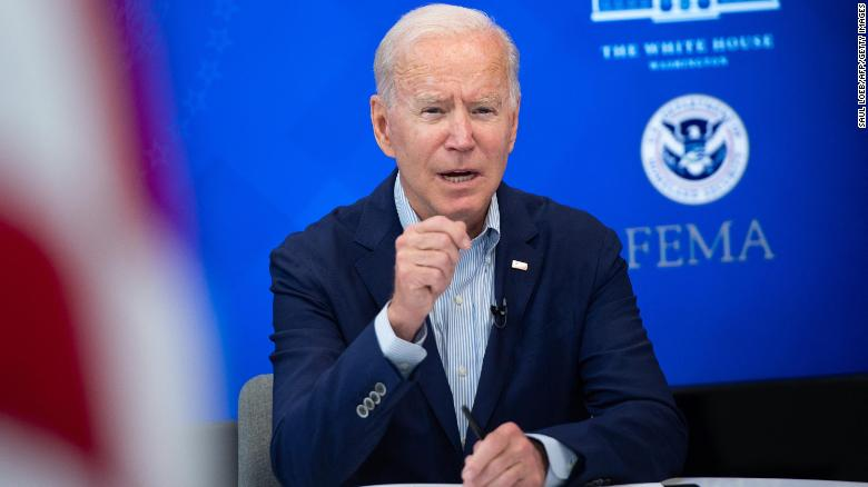 'We're doing all we can': Biden speaks on Hurricane Ida relief efforts