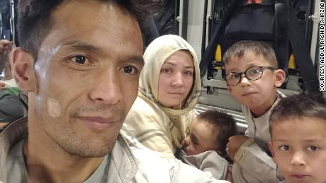 'I don't want them to kill my kids': Afghan translator's desperate journey from the clutches of the Taliban to a new life in the US
