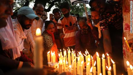 Four men charged with rape and murder of 9-year-old girl in India