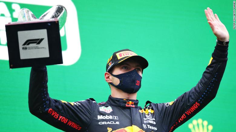 Max Verstappen wins rainswept Belgian Grand Prix 'farce'