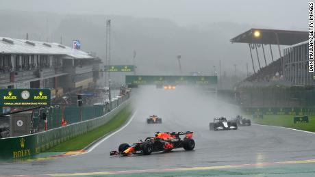 """The race was delayed by three hours due to weather delays, with McLaren boss Zak Brown calling for """"a better solution"""" to prevent the situation from happening again."""