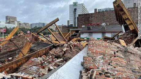 Hurricane Ida destroyed a historic building that was a second home to jazz great Louis Armstrong