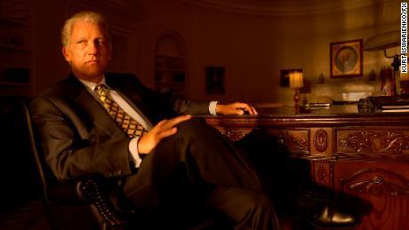 Clive Owen dans le rôle de Bill Clinton dans