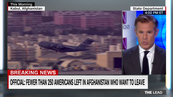 Image for The U.S. military is out of Afghanistan, but up to 250 American citizens left in the country want to leave