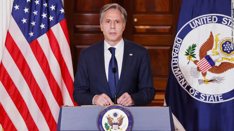 Blinken says US 'working to do everything in our power' to get charter flights out of Afghanistan