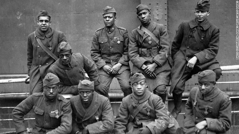 The Harlem Hellfighters, Black soldiers who fought in World War I, will receive a Congressional Gold Medal