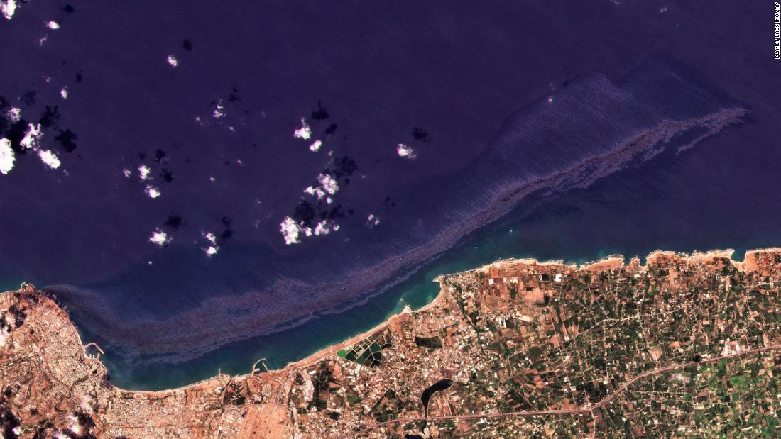 Syrian oil spill spreads throughout the Mediterranean