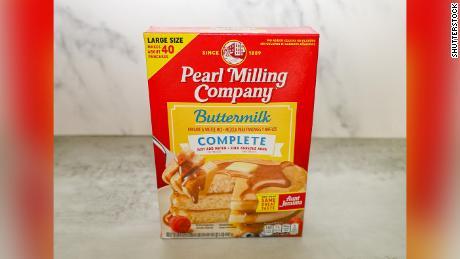 Pearl Milling Company pancake and waffle mix.