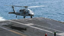 US Navy helicopter crashes off the San Diego coast. 5 crew members are unaccounted for