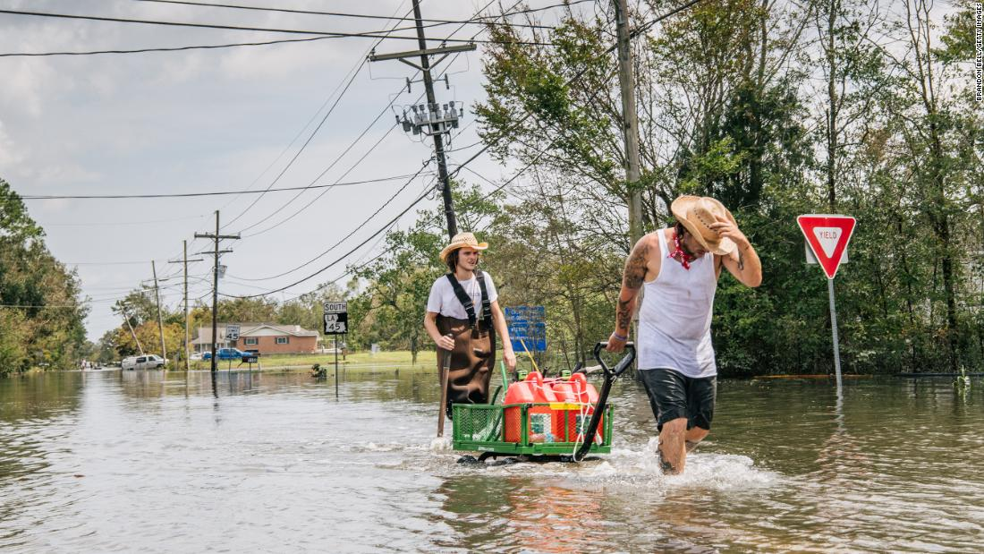 After Ida wiped out power to more than 1 million Louisiana residents now face gas shortages and dwindling supplies – CNN
