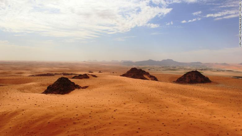 These ancient climate change events helped early humans migrate across the Arabian desert