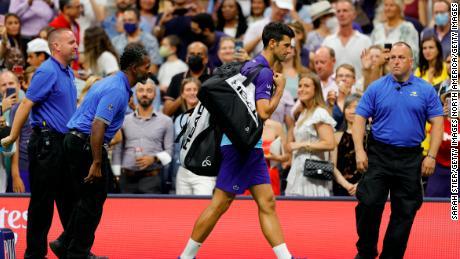Novak Djokovic a déclaré qu'il pensait avoir entendu des huées de la foule à New York, mais beaucoup applaudissaient
