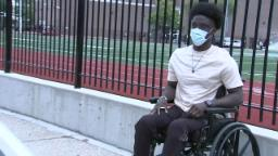 Chicago State University student, soccer player must learn to walk again after being shot working as rideshare driver