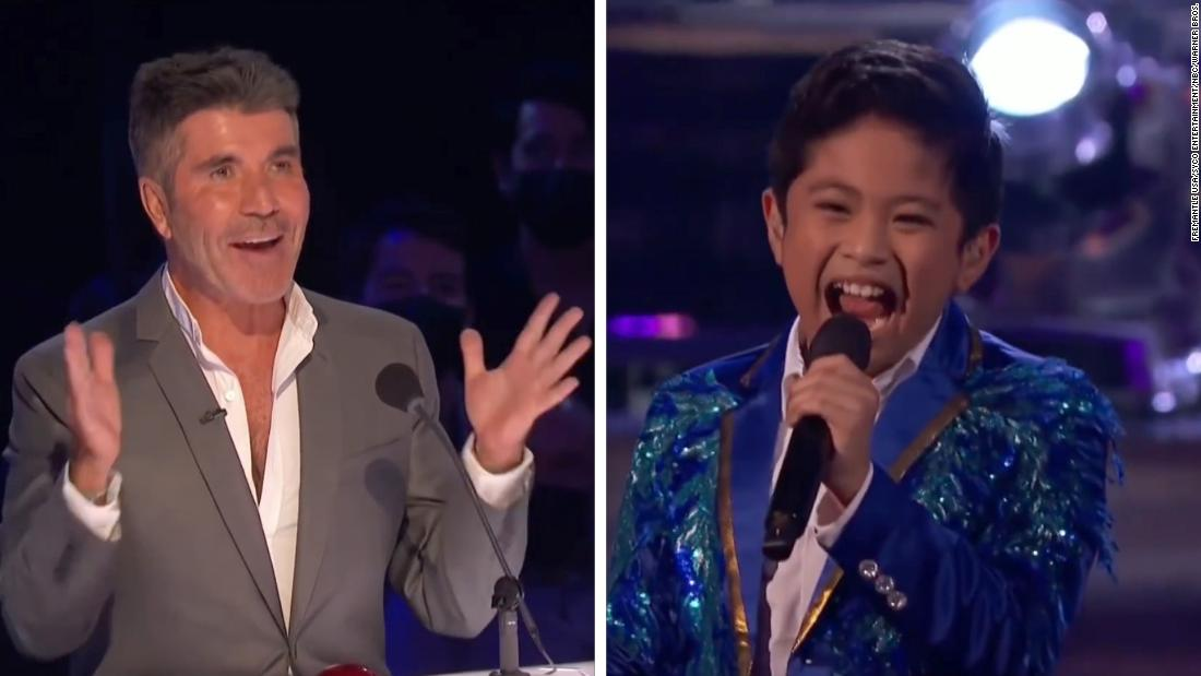 'AGT' 10-year-old singer wows judges after miscue