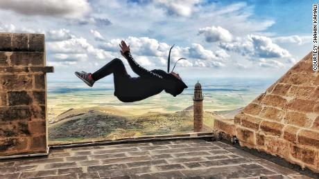 Fatemeh Akrami says that due to international gymnastics dress code rules at the time, she wasn't able to compete on a global stage in accordance with Iran's mandatory hijab law, which was enacted by the Islamic Republic in 1983.