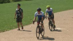 Father biking 4,600 miles to honor son, raise money to fight pediatric cancer | St. Louis News Headlines