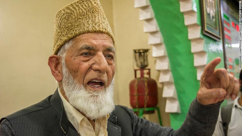 Internet shut down and Indian troops deployed after death of Kashmir separatist leader