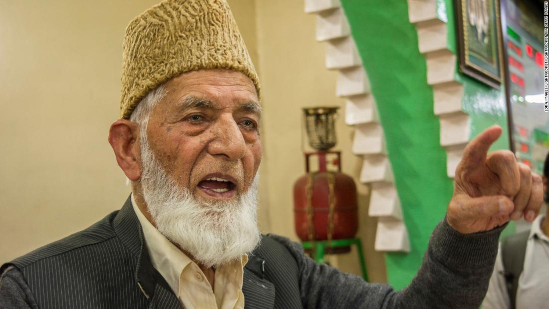 Internet shut down and Indian troops deployed after death of Kashmir separatist leader – CNN