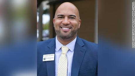This Texas high school principal was put on administrative leave after being accused of promoting critical race theory