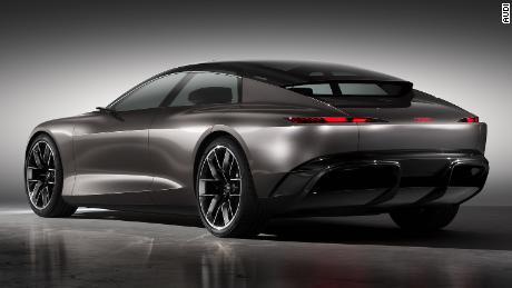 Audi a l'intention de produire une voiture électrique très semblable à celle-ci vers le milieu de cette décennie.