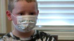 Park Hill student spreads joy with jokes on mask