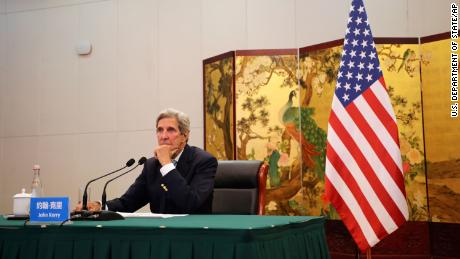 John Kerry is pushing China to do more on climate. Beijing is pushing back