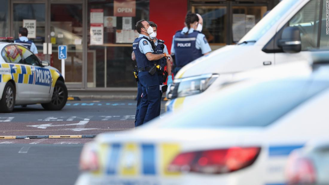 ISIS supporter shot dead by New Zealand police after shoppers stabbed in 'terrorist attack' – CNN