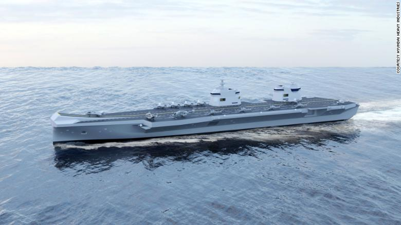South Korea's new aircraft carrier could look like a mini HMS Queen Elizabeth