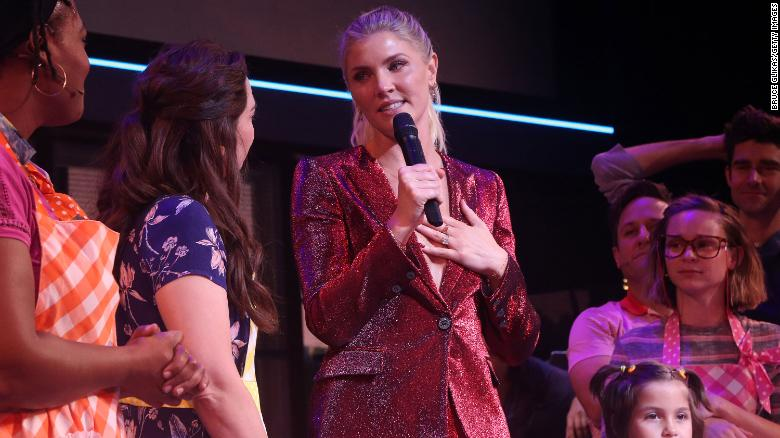 Amanda Kloots attends Broadway reopening of 'Waitress' honoring her late husband Nick Cordero