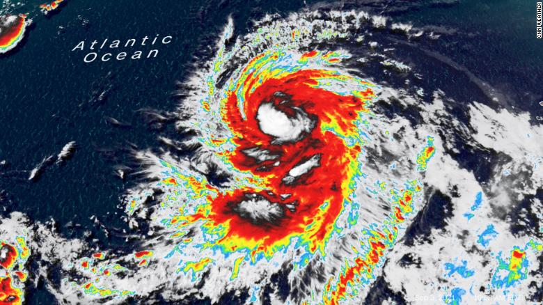 Larry: the next major hurricane in the Atlantic