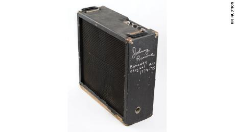 The Electro-Harmonix Mike Matthews Freedom amp was also signed by Johnny Ramone.