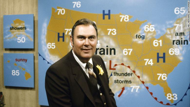 Willard Scott, longtime weatherman for 'Today,' dies at 87
