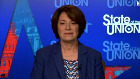 Klobuchar calls for end Senate obstruction to protect abortion rights