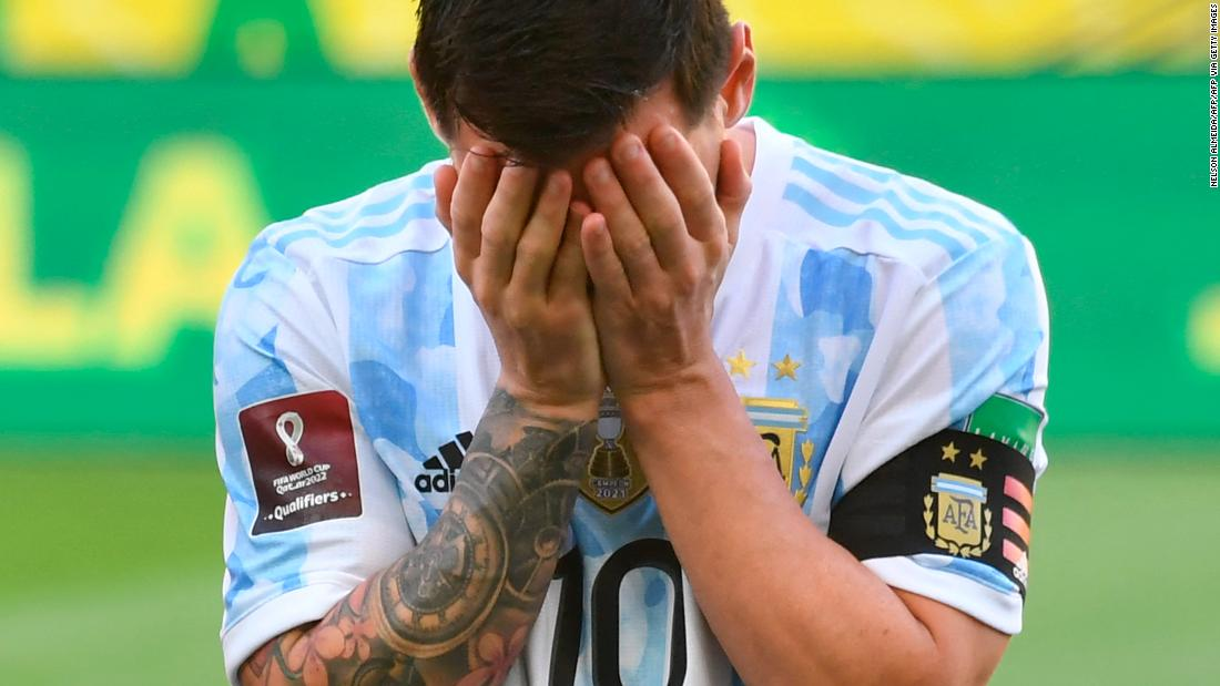 Brazil vs. Argentina World Cup qualifier suspended, as four Argentinian players accused of breaking Covid travel protocols - CNN