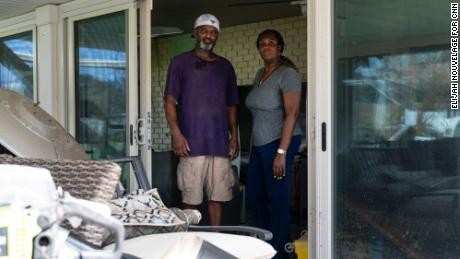Willie and Eldora Bolden have no plans to leave Louisiana, even after suffering heavy losses from Hurricane Isaac nine years ago and now Ida.
