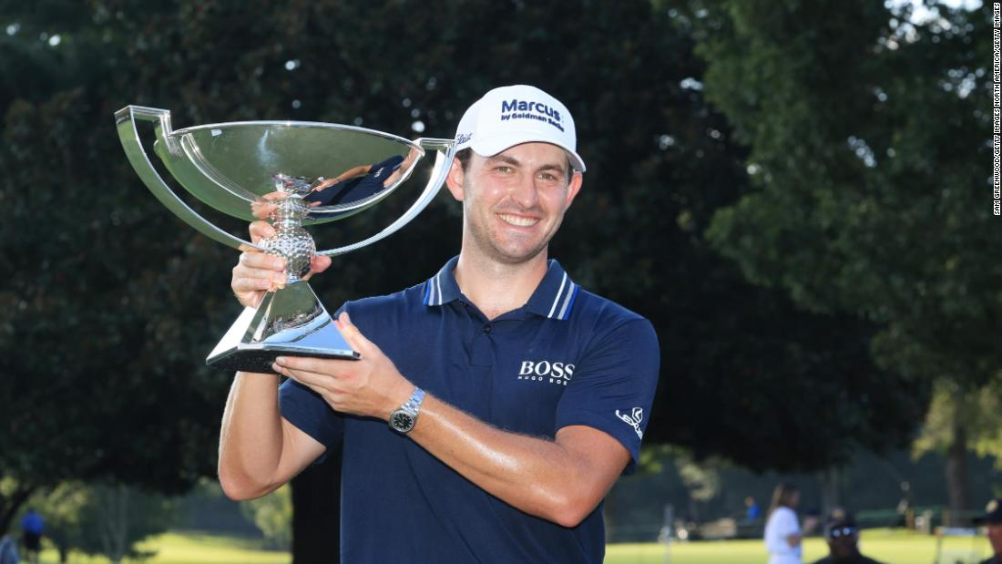 Patrick Cantlay draws on 'self-belief' as he wins golf's million FedEx Cup and Tour Championship
