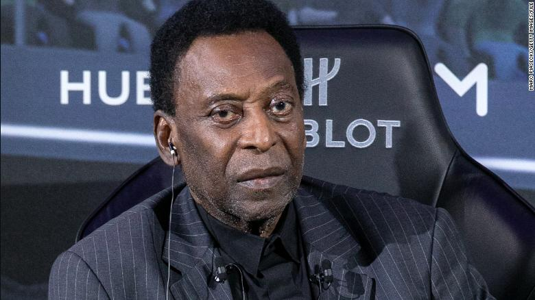 'I will face this match with a smile': Brazilian football hero Pele announces surgery to remove tumor