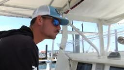 Charter fishing captain with cerebral palsy becomes crowd favorite