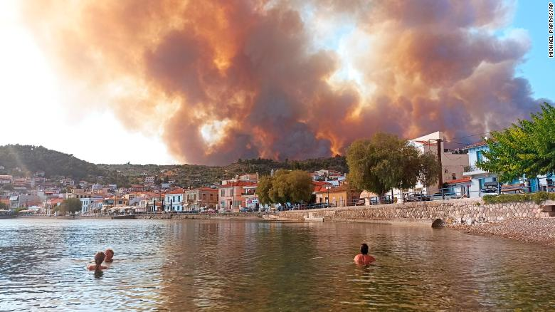 This summer was Europe's hottest on record as Mediterranean heat soared