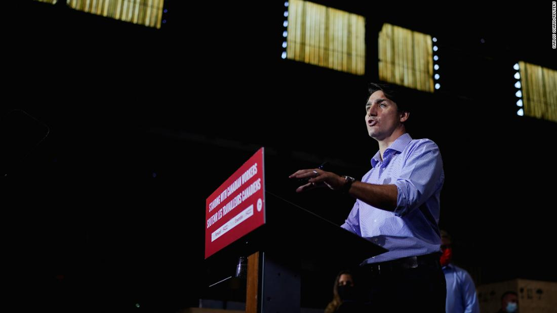 Polls close in Canada election as Trudeau seeks to fend off conservative rival