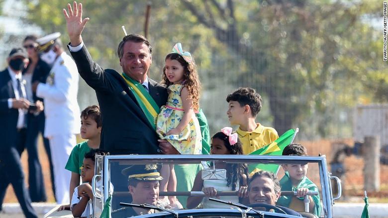 Bolsonaro supporters breach police cordon in protest against Brazil judiciary