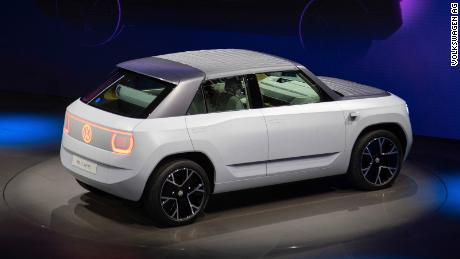 VW's small concept crossover SUV has a removable roof panel.