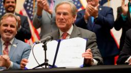 Texas governor signs voting restrictions bill into law