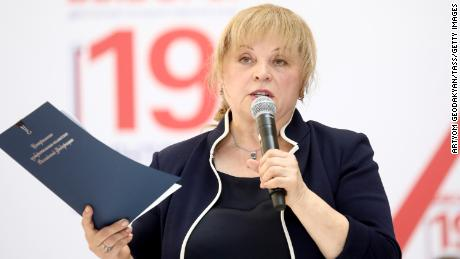 Central Election Committee chairperson, Ella Pamfilova, said they do not have the legal means to dismiss the candidates.