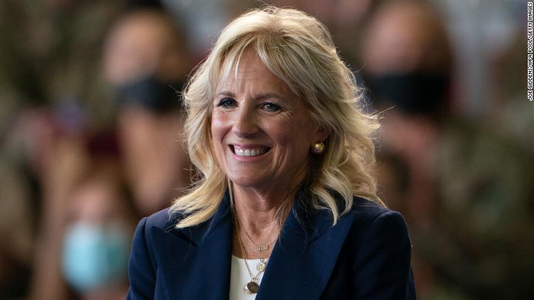 Jill Biden makes unannounced trip to South Carolina to honor pastor