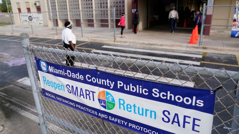 13 Miami-Dade school employees have died of Covid-19 since mid-August