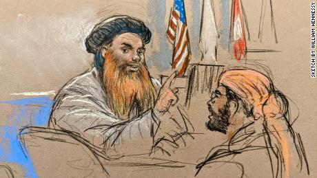 Alleged 9/11 plotters, including Khalid Sheikh Mohammed, appear at Guantanamo pretrial hearing