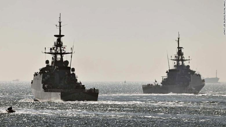 Royal Navy warships leave Britain for landmark Pacific deployment