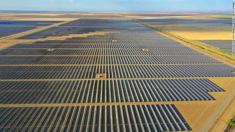 Biden administration says solar energy has the potential to power 40% of US electricity by 2035